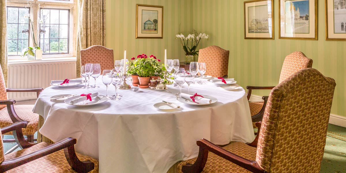 The Wallis Room at Lucknam Park Hotel & Spa
