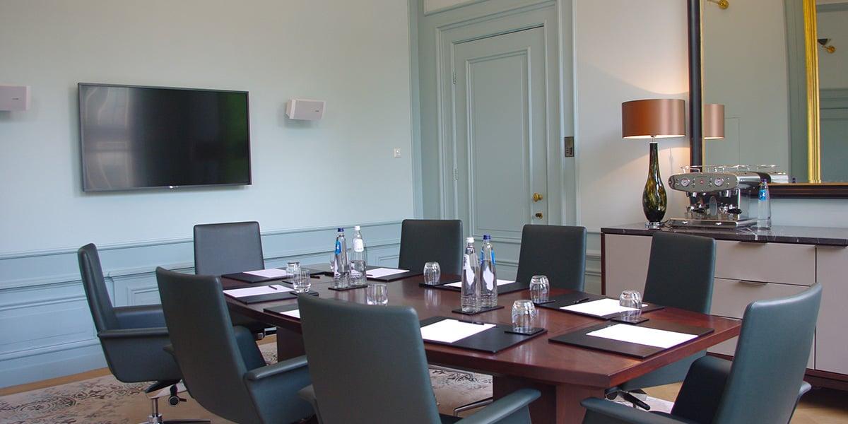 Boardroom in Amsterdam, Waldorf Astoria Amsterdam, Prestigious Venues