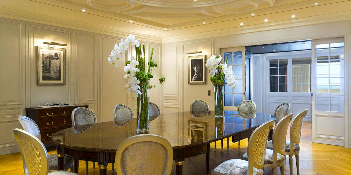 Dior Suite Event Space, Hotel Barriere Le Majestic Cannes, Prestigious Venues