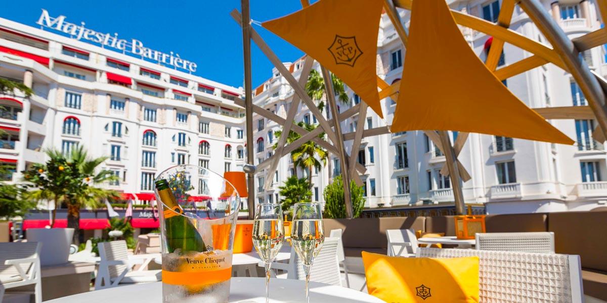 Luxury Beach Bar, Hotel Barriere Le Majestic Cannes, Prestigious Venues