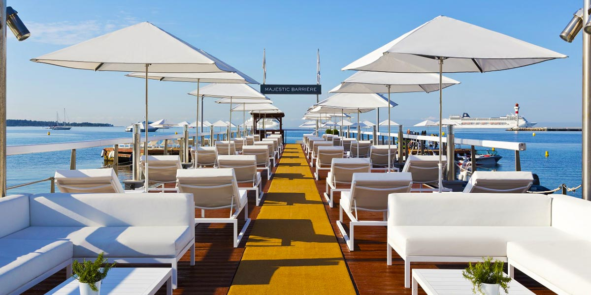 Ocean View Venue, Hotel Barriere Le Majestic Cannes, Prestigious Venues