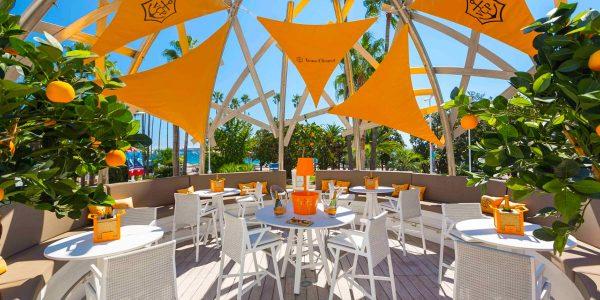 Outdoor Cocktail Venue, Hotel Barriere Le Majestic Cannes, Prestigious Venues