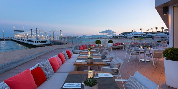 Outdoor Deck Event Space, Hotel Barriere Le Majestic Cannes, Prestigious Venues