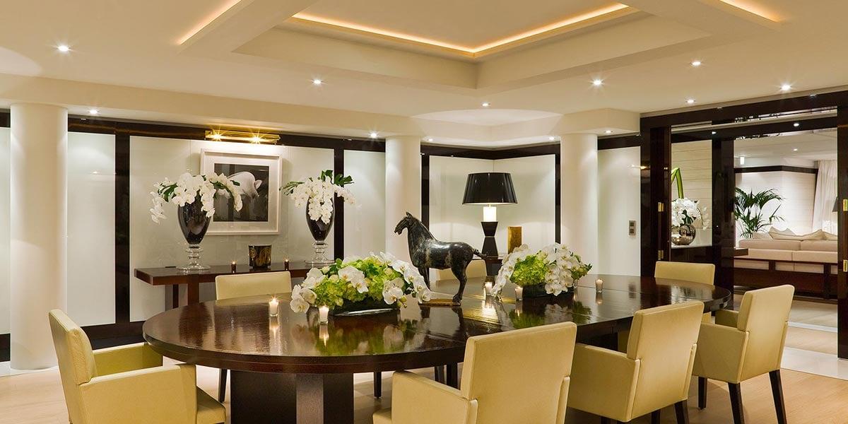 Private Dining Room, Hotel Barriere Le Majestic Cannes, Prestigious Venues