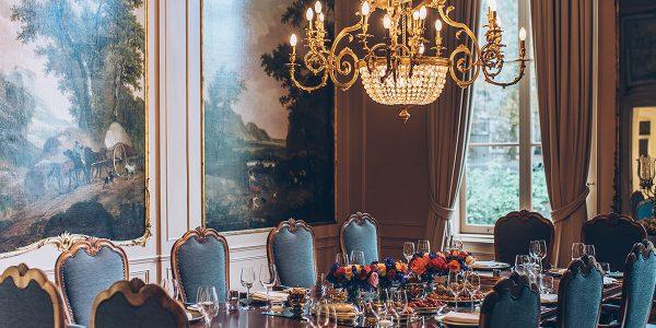 Private Dining in Amsterdam, Waldorf Astoria Amsterdam, Prestigious Venues