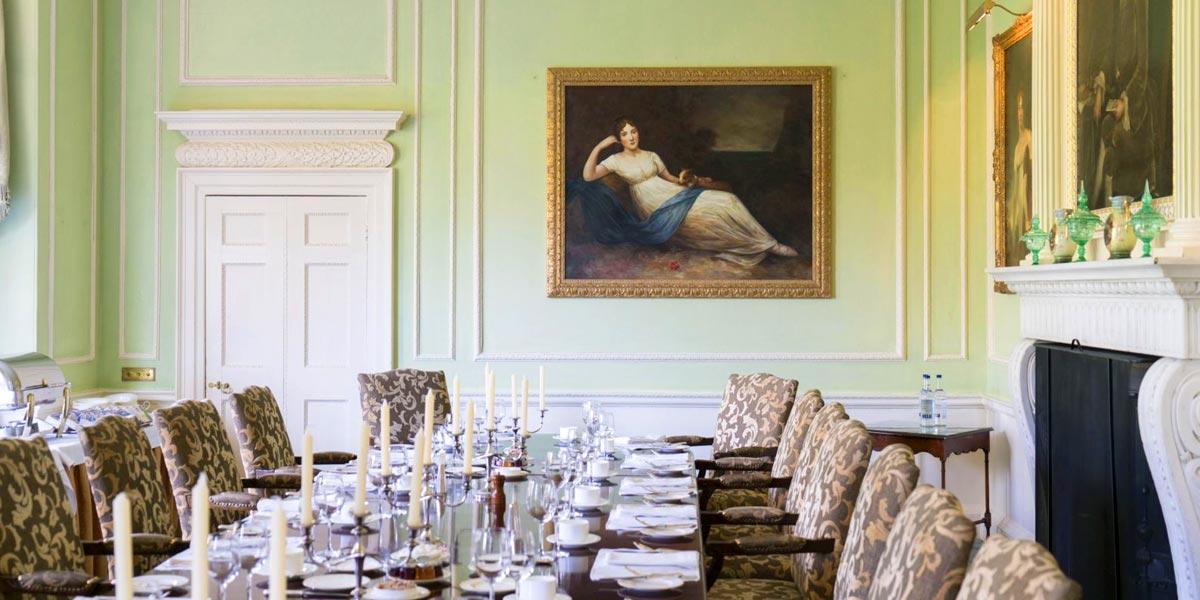 Dining Room at Brocket Hall