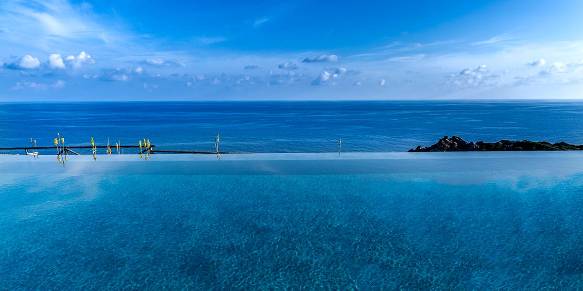 Infinity Pool in Sardinia, Faro Capo Spartivento, Prestigious Venues