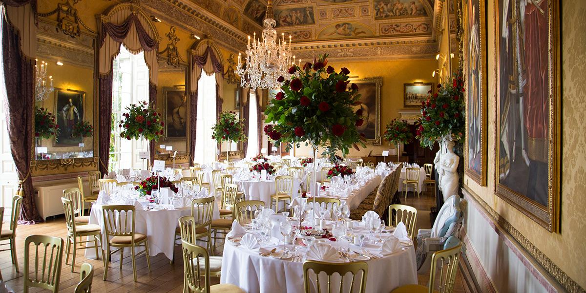 Wedding Reception Venue, Brocket Hall, Prestigious Venues
