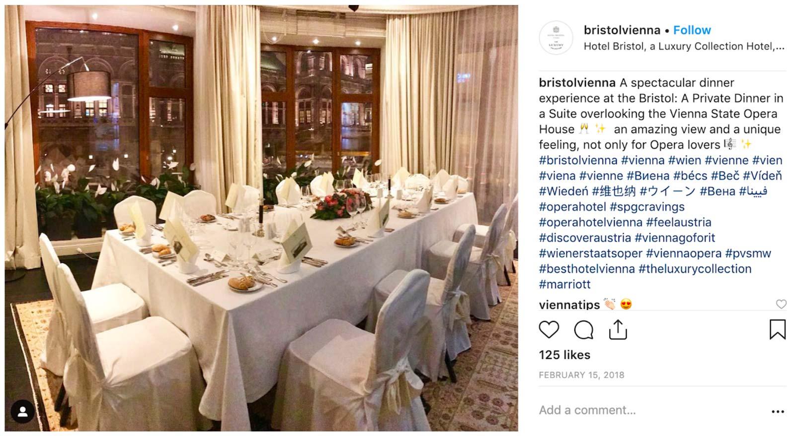 Hotel Bristol Vienna, Prestigious Venues Social Media Week, 9