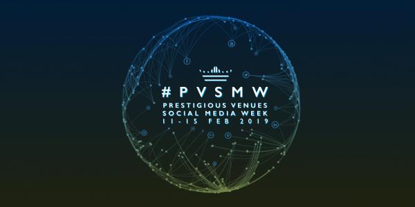 PVSMW 2019, Prestigious Venues Social Media Week