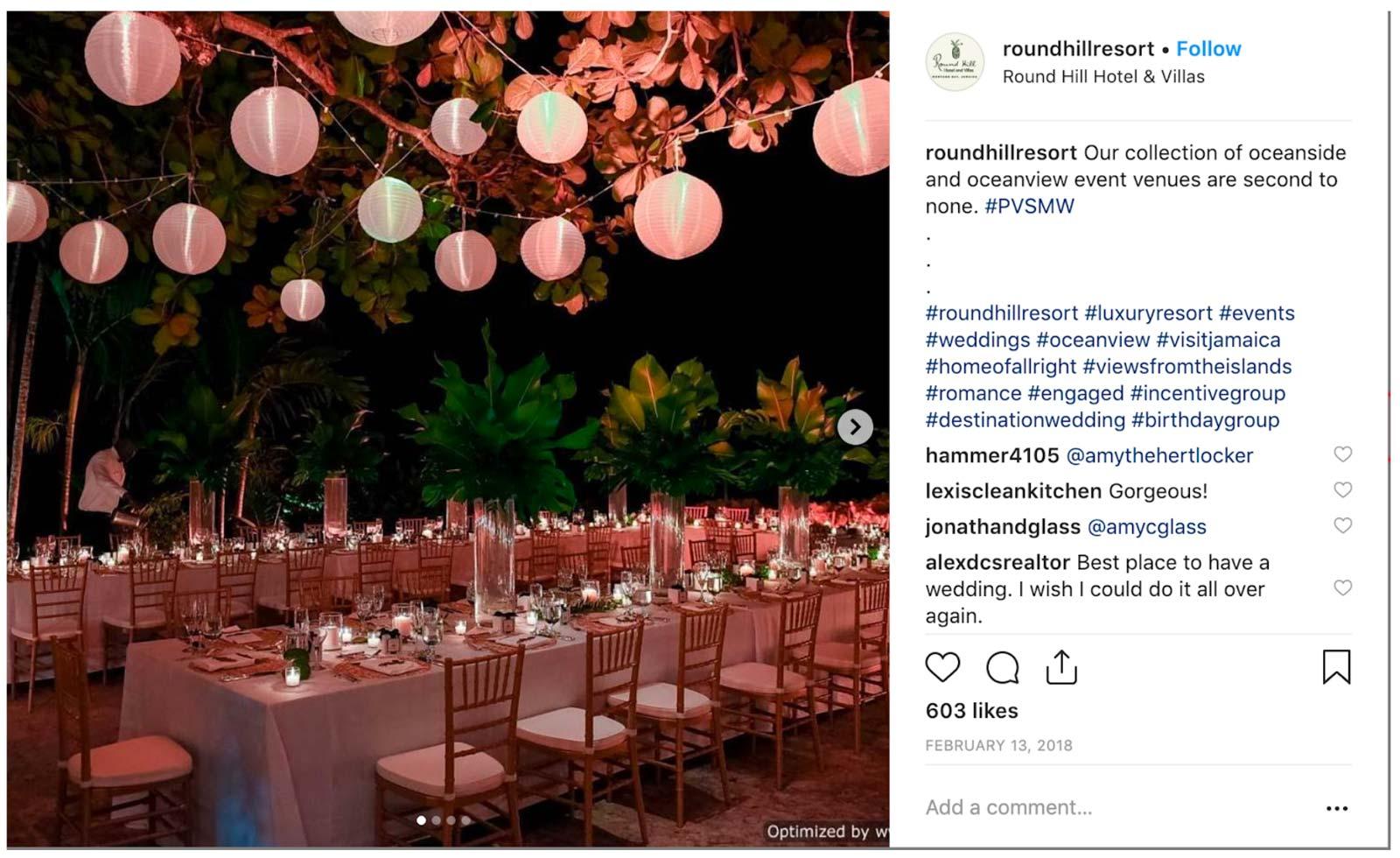 Round Hill Hotel, Prestigious Venues Social Media Week, 4