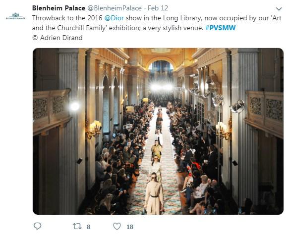 Blenheim Palace, Long Library, PVSMW 2019, Prestigious Venues