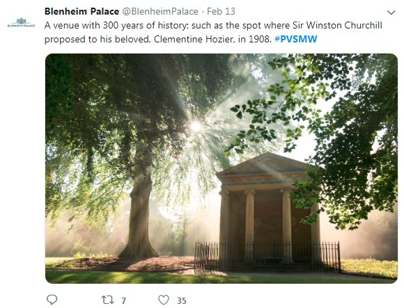 Blenheim Palace, PVSMW 2019, Prestigious Venues