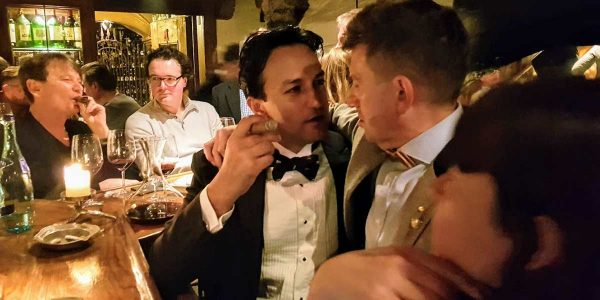 Cigars at Hospiz Alms, Hotel Maiensee Ski Trip 2019, Prestigious Venues