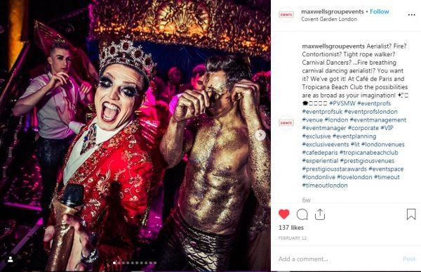 Covent Garden London, Show Venue, PVSMW 2019, Prestigious Venues