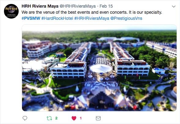 Hard Rock Hotel Riviera Maya, Beach Venue, PVSMW 2019, Prestigious Venues