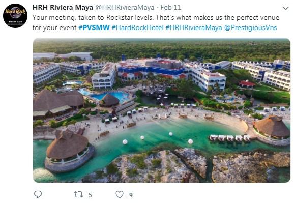 Hard Rock Hotel Riviera Maya, RCD, PVSMW 2019, Prestigious Venues