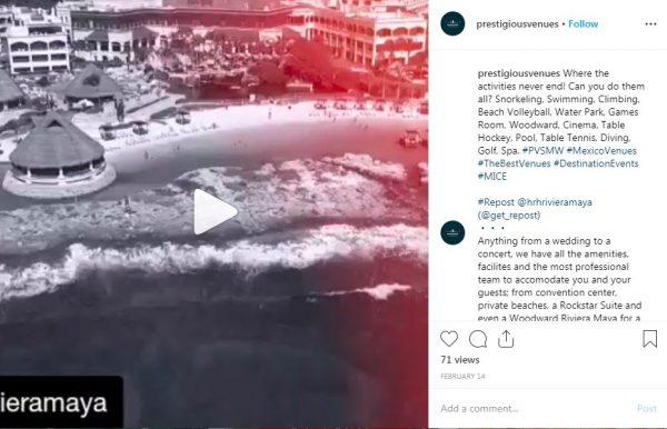 Hotel Riviera Maya HRH, PVSMW 2019, Prestigious Venues