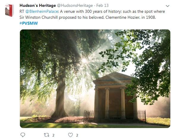 Hudson's Heritage, PVSMW 2019, Prestigious Venues