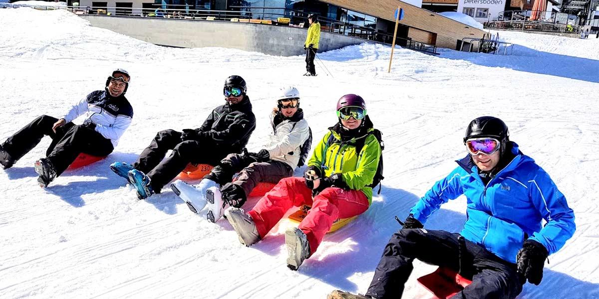 Lech Toboganning, Hotel Maiensee Ski Trip 2019, Prestigious Venues