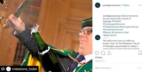 Milestone Hotel London, PVSMW 2019, Prestigious Venues