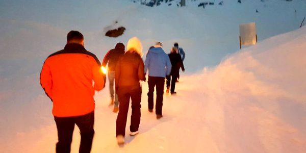 Mountain Torchwalk, Hotel Maiensee Ski Trip 2019, Prestigious Venues
