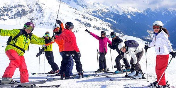 On the Piste at Galzig, Hotel Maiensee Ski Trip 2019, Prestigious Venues