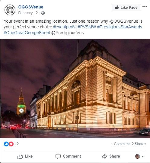One Great George Street, Conference Venue, PVSMW 2019, Prestigious Venues