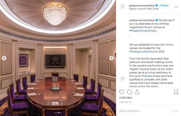 Palazzo Versace Dubai, Meeting Room, PVSMW 2019, Prestigious Venues