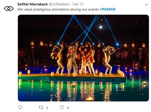 Sofitel Marrakech Animation, PVSMW 2019, Prestigious Venues