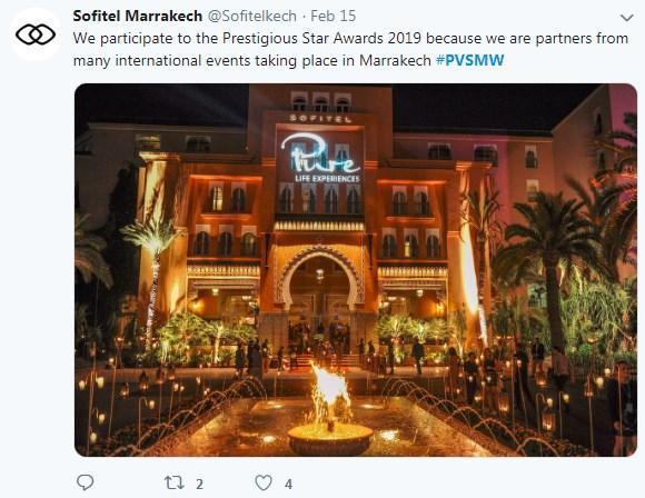 Sofitel Marrakech International Events, PVSMW 2019, Prestigious Venues