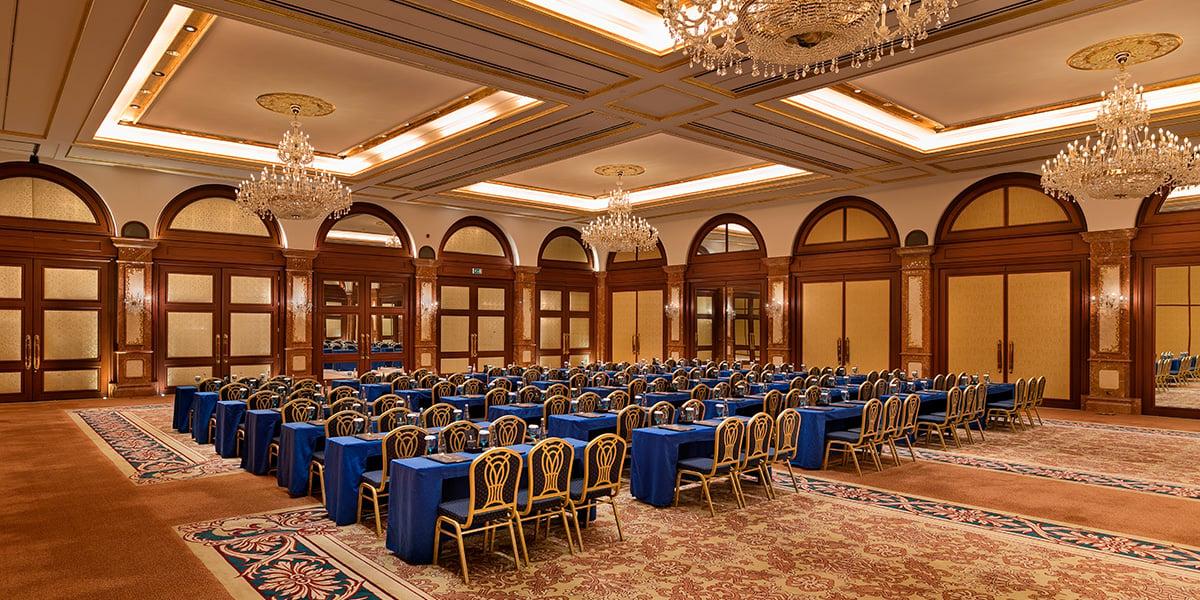 Beylerbeyi Ballroom in Turkey, Titanic Mardan Palace, Prestigious Venues