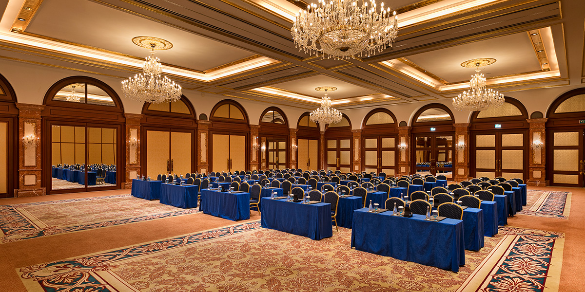 Events in the Beylerbeyi Ballroom, Titanic Mardan Palace, Prestigious Venues