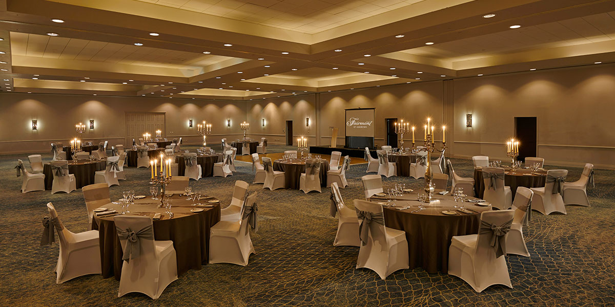 Robert Burns Ballroom at Fairmont St Andrews