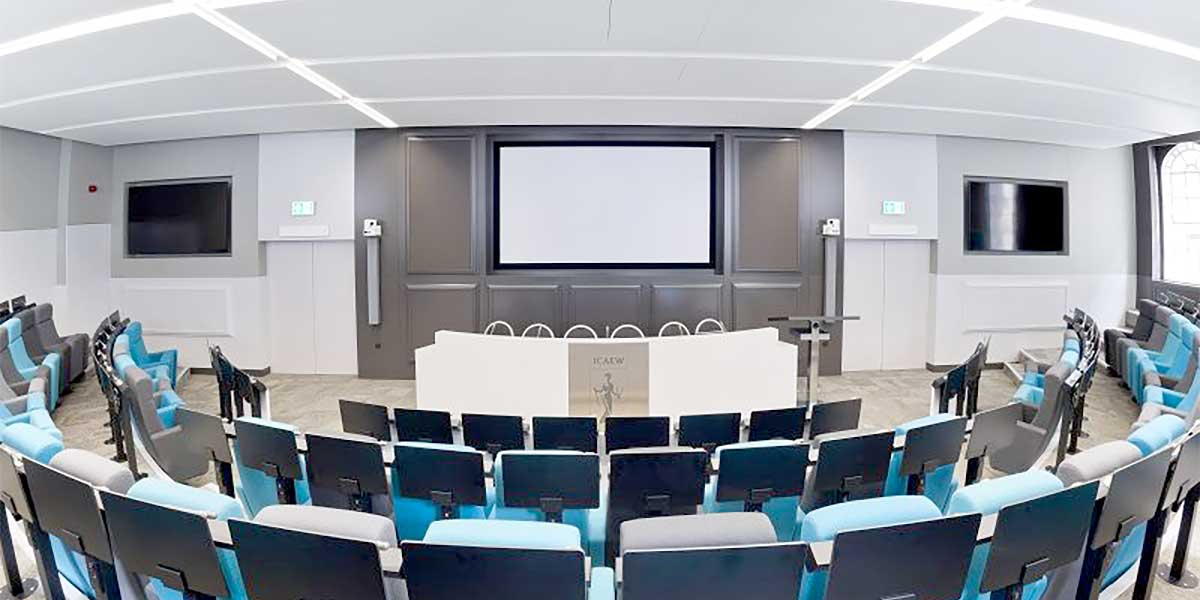Auditorium at One Moorgate Place