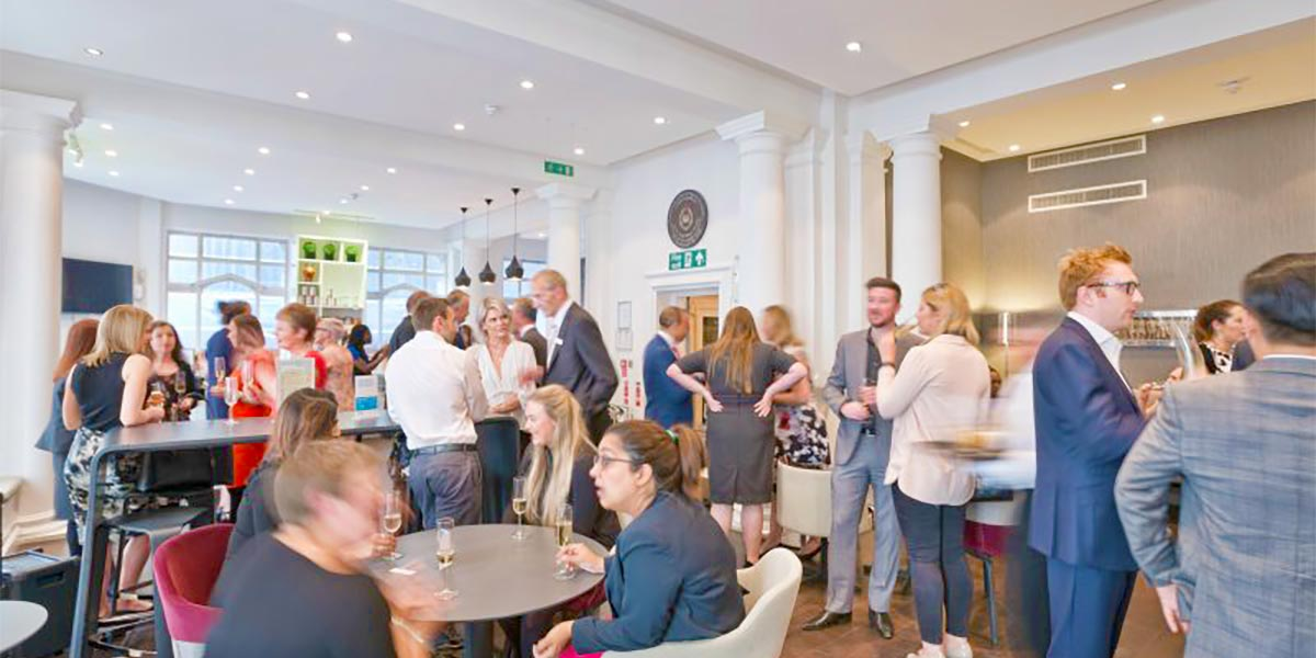 Business Centre Reception, One Moorgate Place, Prestigious Venues