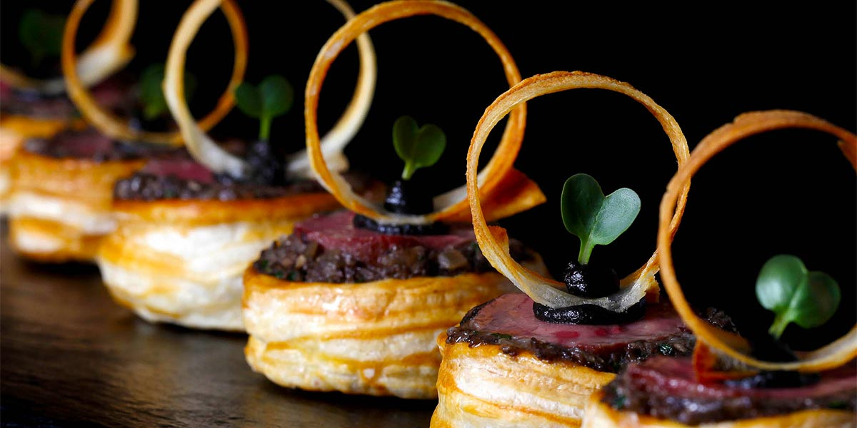 Delicious Canapes, Event Caterer In London, Food Show, Prestigious Venues