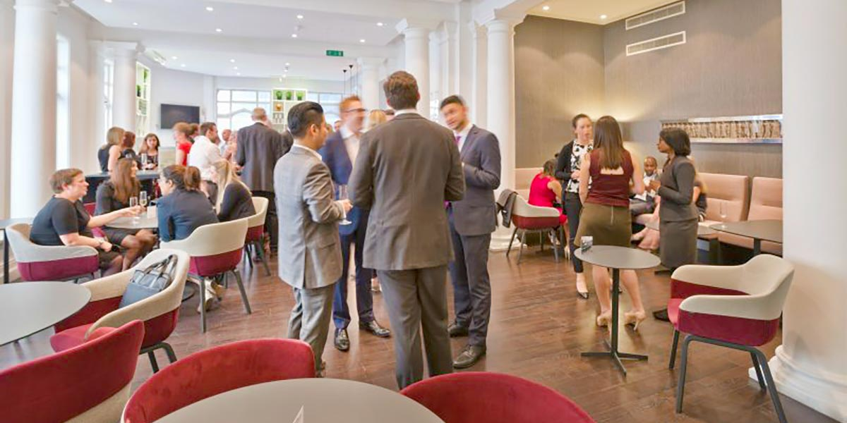 Drinks Reception, One Moorgate Place, Prestigious Venues