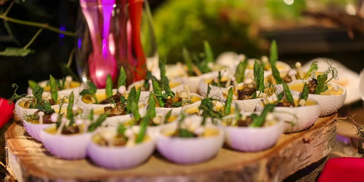 Food For Events, Event Caterer In London, Food Show, Prestigious Venues