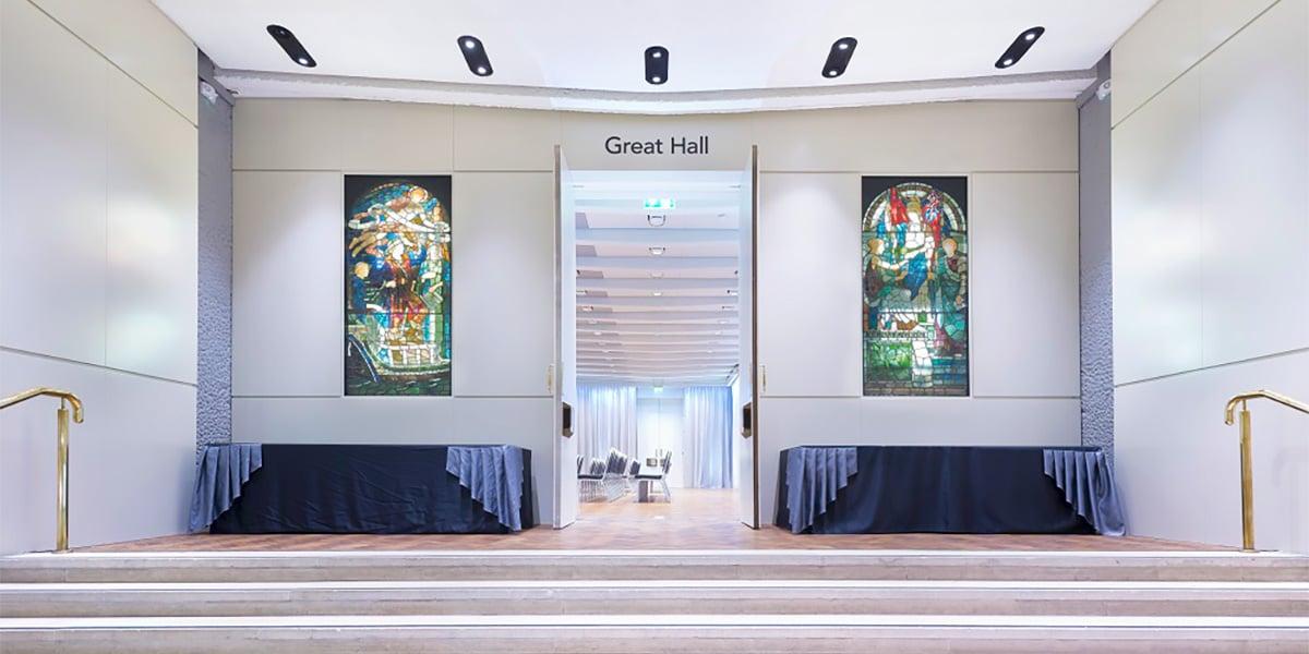 Great Hall, One Moorgate Place, Prestigious Venues