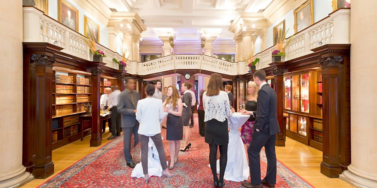 Member's Room Reception, One Moorgate Place, Prestigious Venues