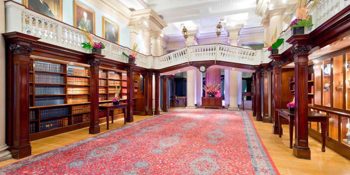 Reception Venue Members Room, One Moorgate Place, Prestigious Venues