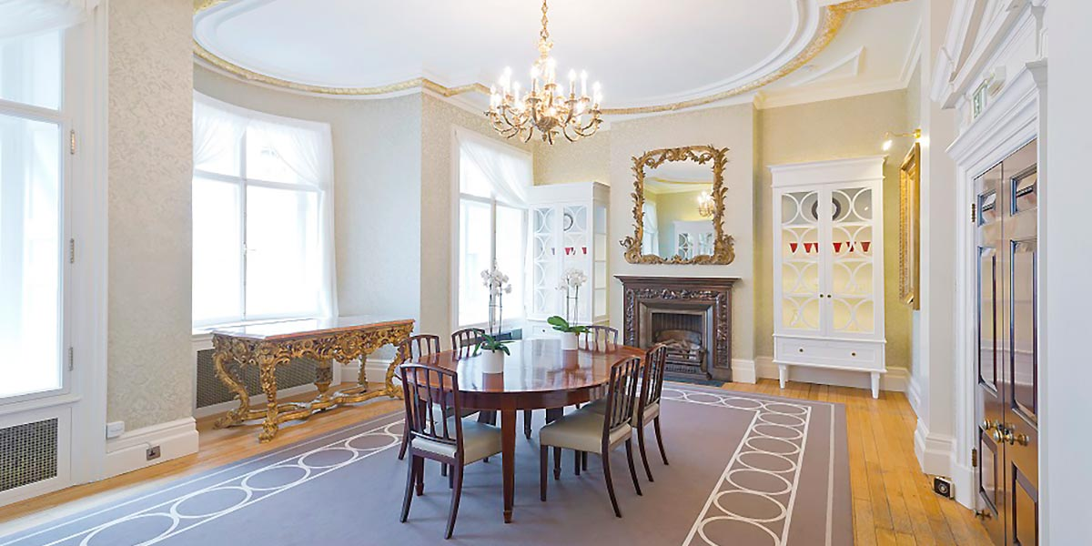 Small Reception Meeting Room, One Moorgate Place, Prestigious Venues