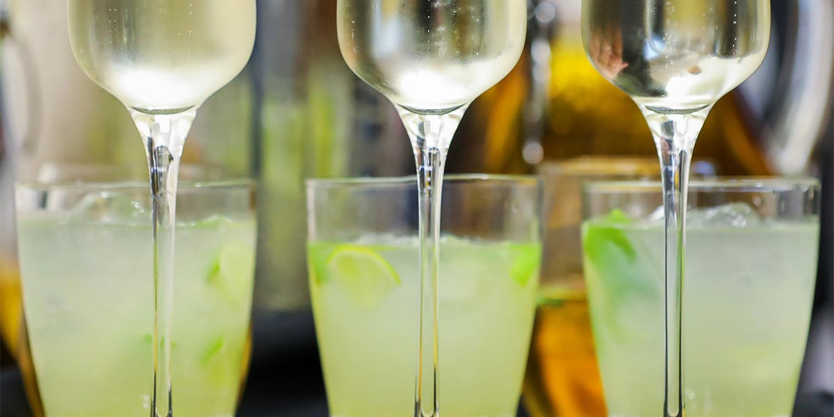 Sparkling Drinks, Event Caterer In London, Food Show, Prestigious Venues