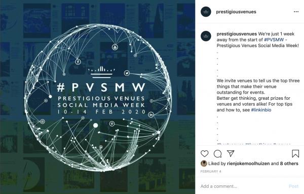 PV post, PVSMW 2020, Prestigious Venues