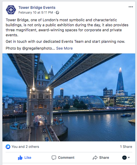 Tower Bridge, London Venue, PVSMW 2020, Prestigious Venues