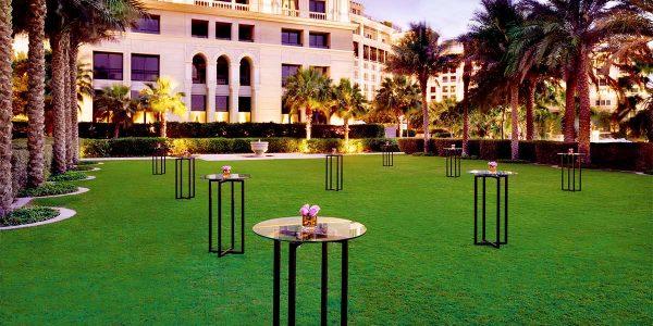Outdoor Reception Venue, Palazzo Versace Dubai, Prestigious Venues