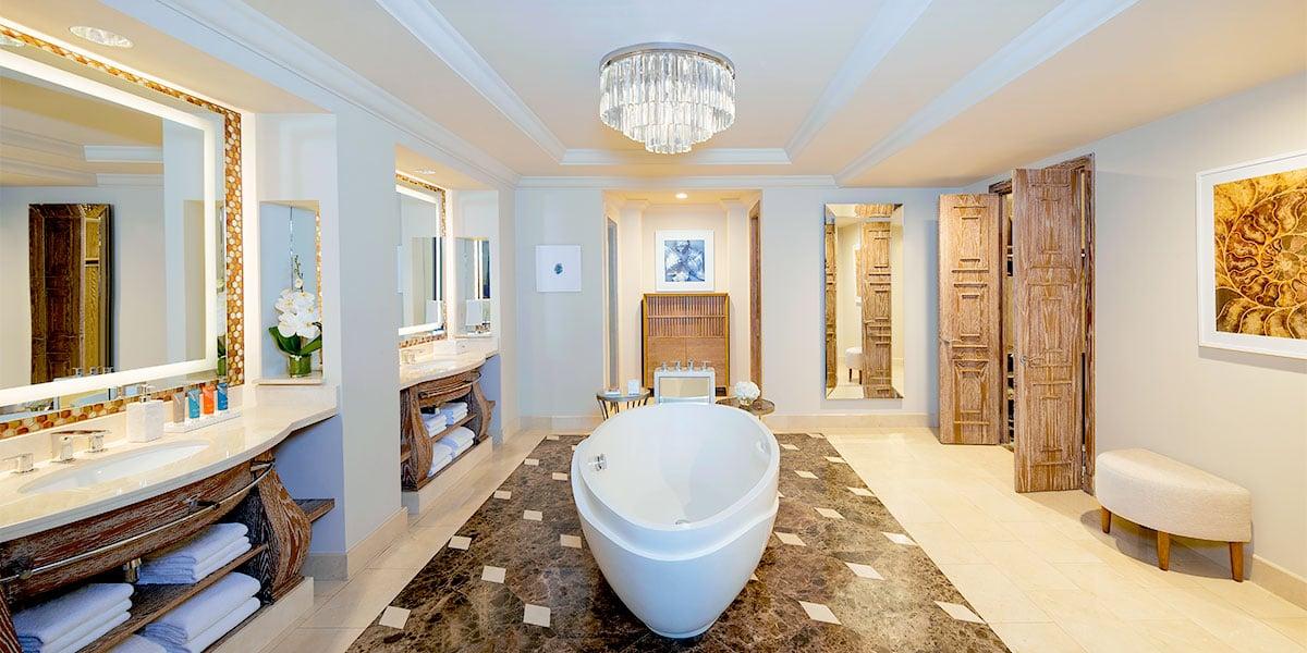 Regal Suite Bathroom, Atlantis The Palm, Prestigious Venues