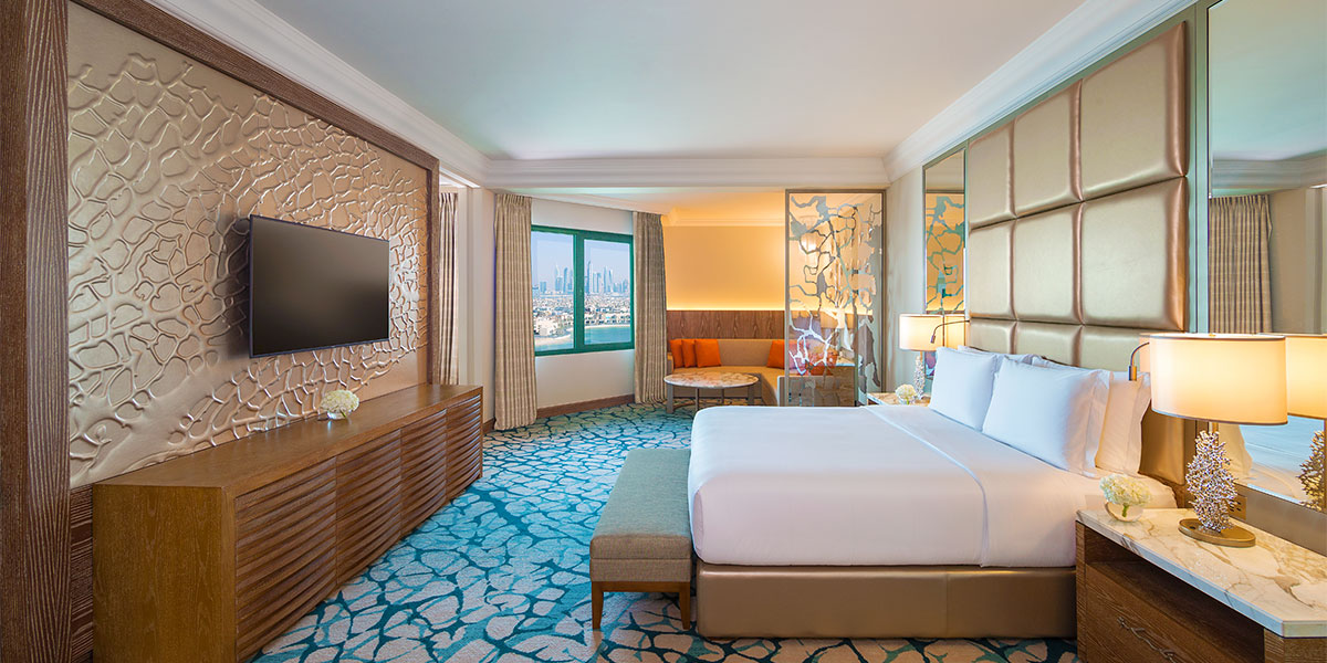 Regal Suite Bedroom, Atlantis The Palm, Prestigious Venues