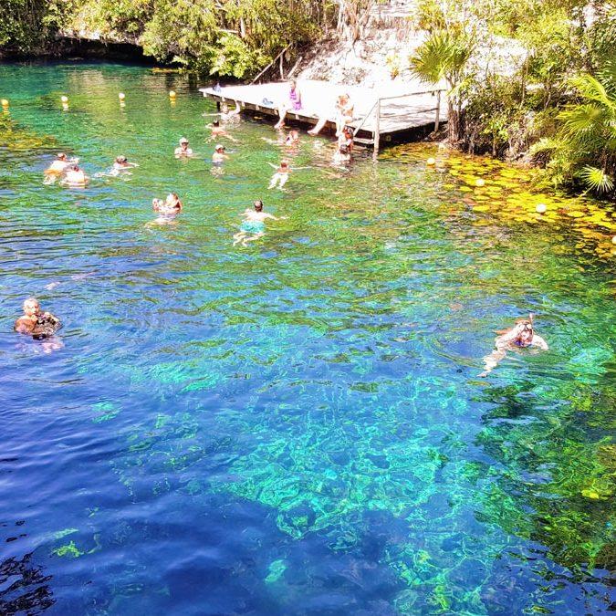 More jumping into Cenotes, Prestigious Venues FAM Trip, Mex2017